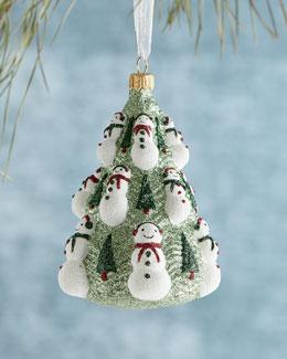 Mattarusky Ornaments Snowman Tree Christmas Ornament