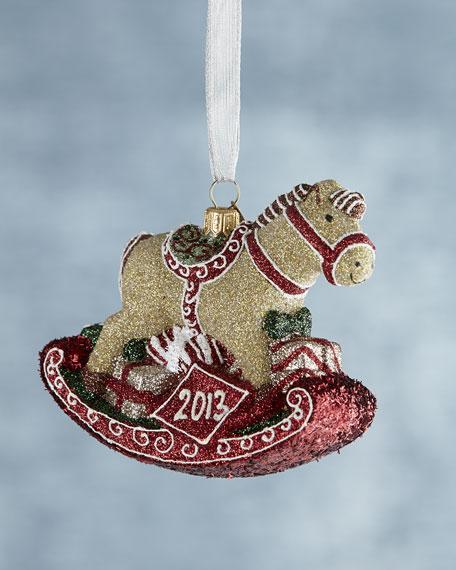 Mattarusky Ornaments Rockin' Rocking Horse Christmas Ornament