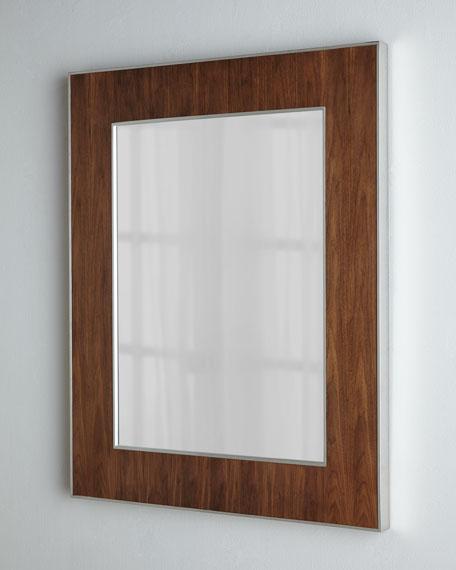 Wood Veneer Mirror