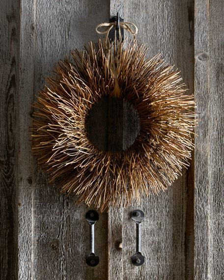 Nito-Vine Brush Wreath