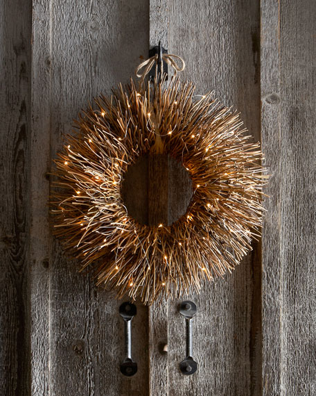 Nito-Vine Brush Wreath