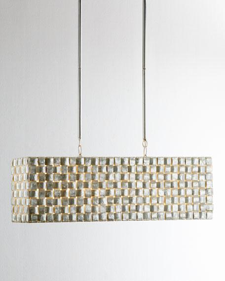 Capiz Buffet Pendant Light