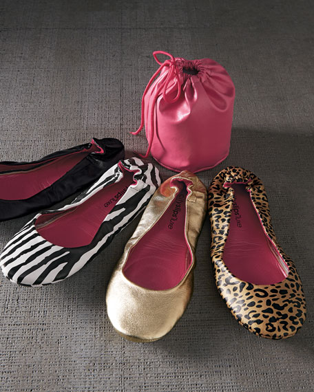Luxe Classic Travel Flats