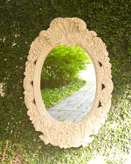 Scroll Outdoor Mirror