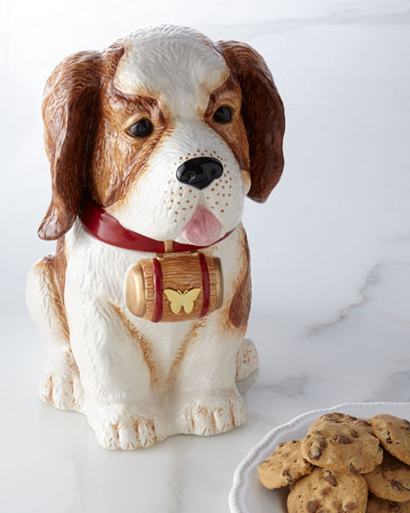 St. Bernard Cookie Jar