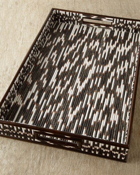 """Porcupine Quill"" Tray"