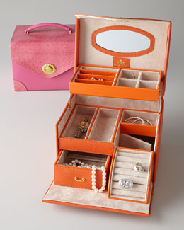 Amelia Square Jewelry Box