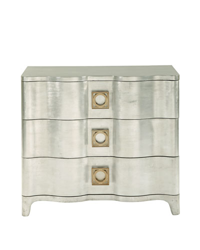 Audrey Three-Drawer Nightstand