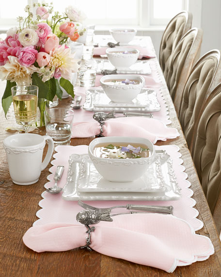 16-Piece Bianca Wave Square Dinnerware Service
