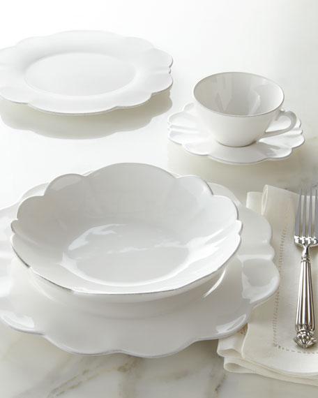 20-Piece Scallop Dinnerware Service