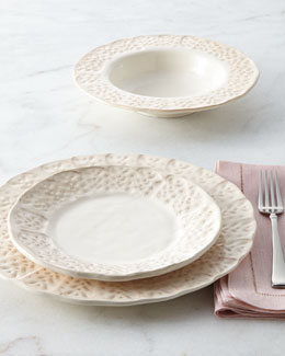 NM EXCLUSIVE 12-Piece Leaf Dinnerware Service
