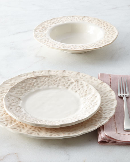 12-Piece Leaf Dinnerware Service