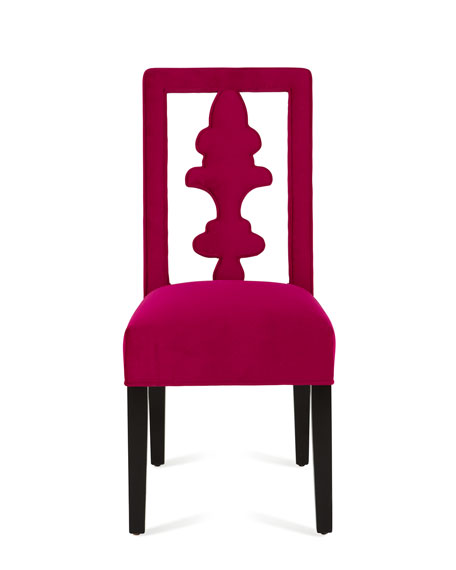 Fuchsia Tiara Chair