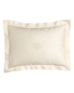 """Ralph Lauren 12"""" x 16"""" Sateen Pillow, Plain"""