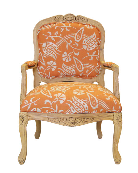 Balto Tangerine Chair