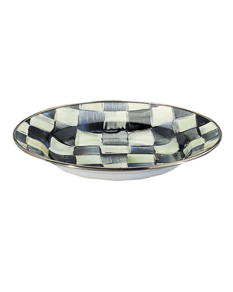 Courtly Check Rimmed Soup Bowl