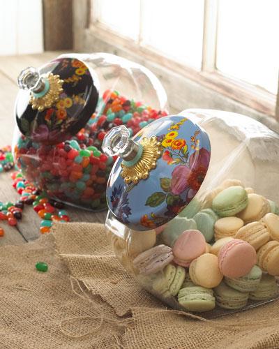 Flower Market Cookie Jar