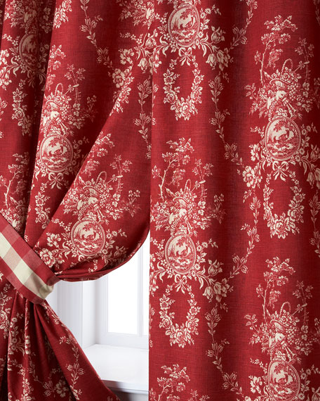 Sherry Kline Home Two French Country Curtains, 52\