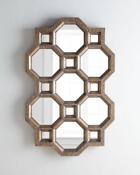 Carrara Honeycomb Mirror