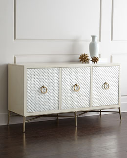 Blanca Capiz-Painted Buffet