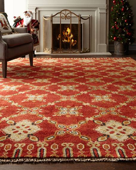 Augustus Hand Knotted Rug, 6' x 9'
