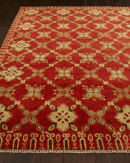 Artisan Floral Rug, 8' x 10'