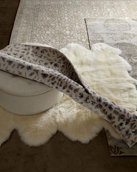 Calm Leopard Rug, 9' x 12'