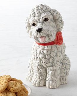 Poodle Cookie Jar