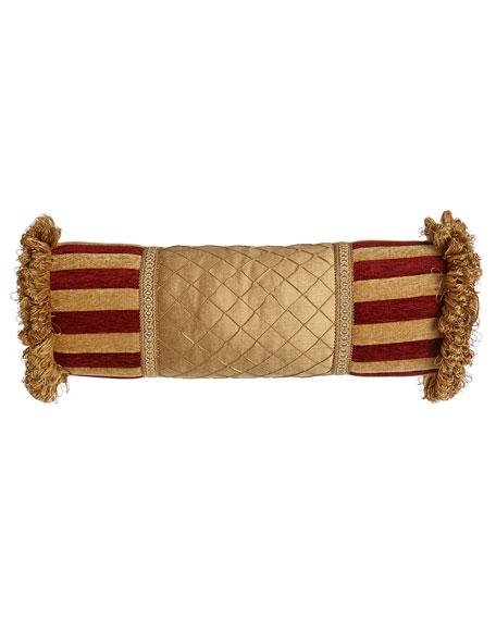 "Bellissimo Neck Roll Pillow, 6"" x 20"""
