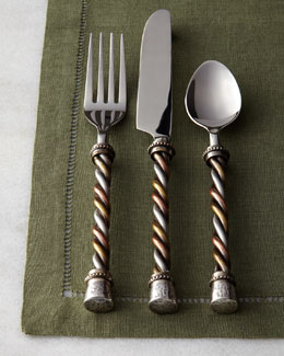 20-Piece Twisted Flatware Service