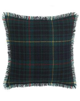 Fringed Duke Tartan Pillow, 20