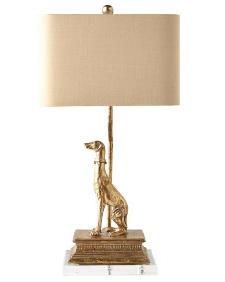 Couture Lamps Right Regal Dog Table Lamp