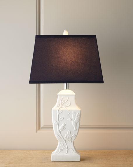 Ceramic Bird Table Lamp