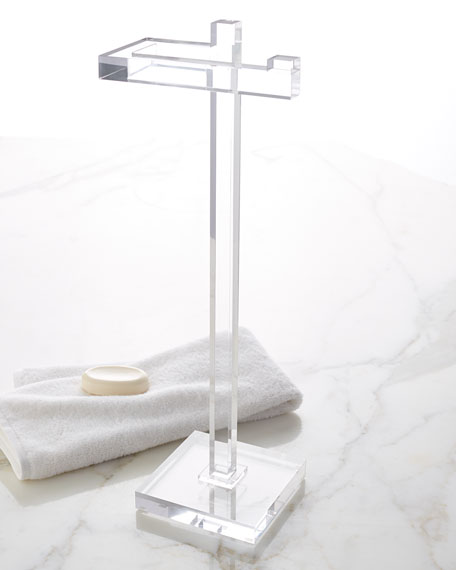 Solid Ice Hand Towel Stand