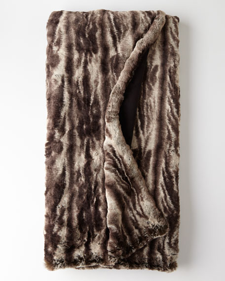 Charlotta Faux-Fur Throw