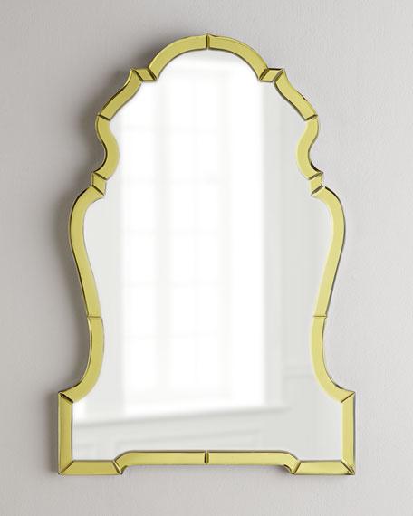Golden Mirror-Framed Mirror