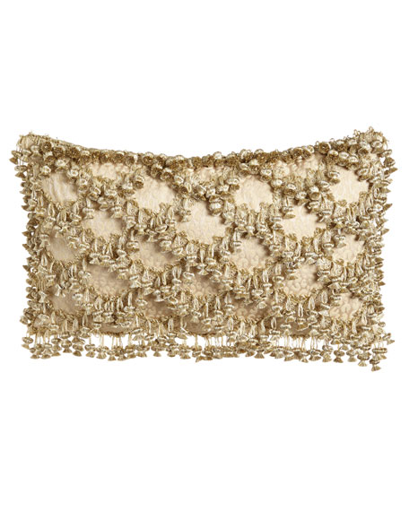 Sweet Dreams Kensington Garden Leopard-Print Pillow with