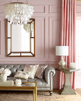 Dusty Pink Dining Chairs