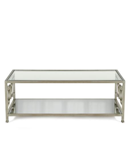 Hendrix Mirrored Coffee Table