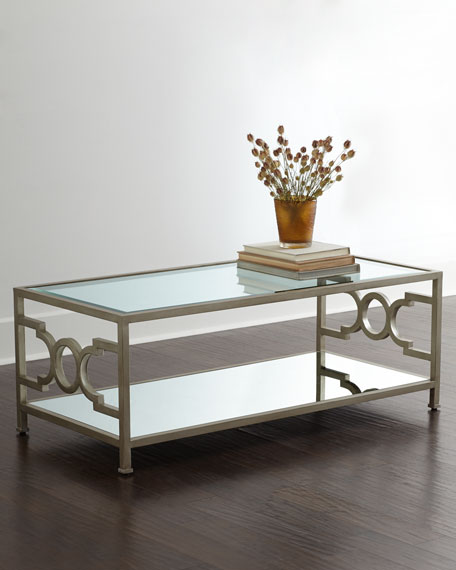 Candice OlsonHendrix Mirrored Coffee Table - Candice Olson Hendrix Mirrored Coffee Table