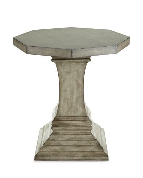Elegant Hooker Furniture Luna Side Table