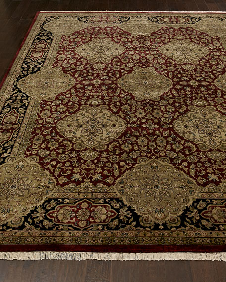 "Persian Flower Runner, 2'6"" x 10'"