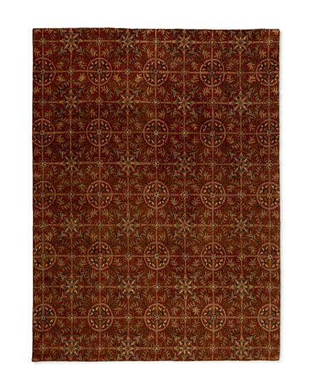 Rustic Tiles Rug, 8' x 10'