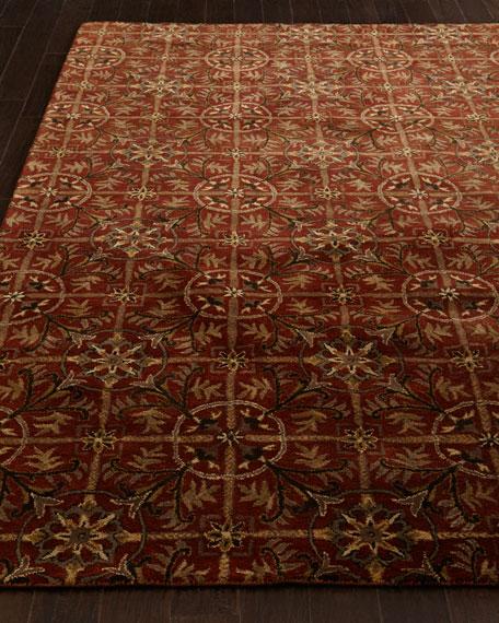 Rustic Tiles Rug, 9' x 12'
