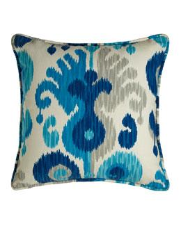 Ceres Ikat Pillow