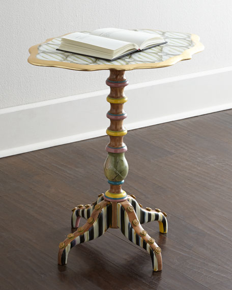 """Cake Stand"" Side Table"