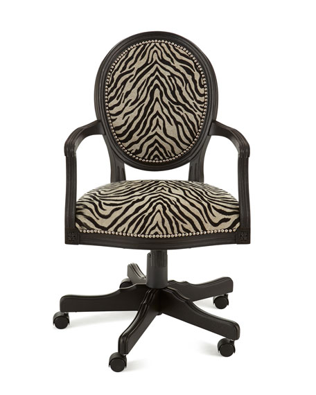 Attractive Zebra Office Chair