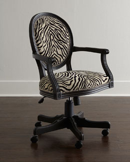 Zebra Office Chair