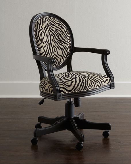 Perfect Zebra Office Chair