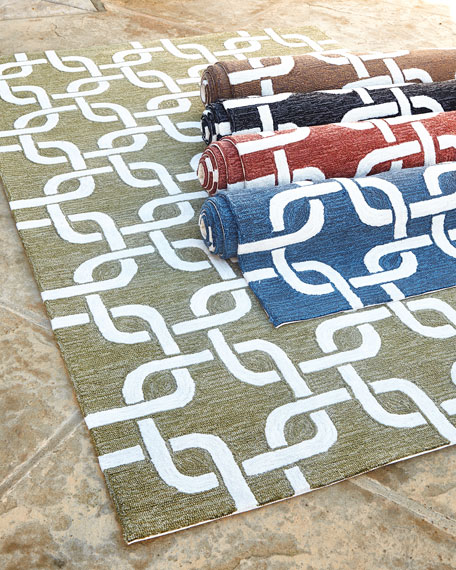 "Links Indoor/Outdoor Rug, 3'5"" x 5'5"""
